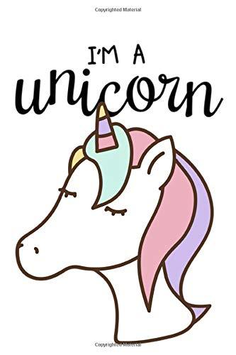 I'm a unicorn: BULLET JOURNAL Notizbuch für Notizen, Termine, Skizzen, Zeichnungen oder Tagebuch | für Mädchen & kleine Prinzessinen | Geschenk zu ... gepunktetes Papier | A5 Format | Soft Cover]