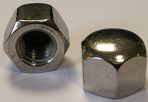 Edelstahl Hutmuttern - DIN 917 Material Edelstahl V2A (Edelstahl V2A, 50 x M8)