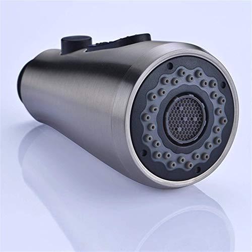 Atomizador grifo Tire hacia abajo grifo del fregadero de cocina pulverizador baño grifo 2 Modos de la ducha del aerosol sustitución de la cabeza de acero inoxidable cromado disponible, Pieza cocina