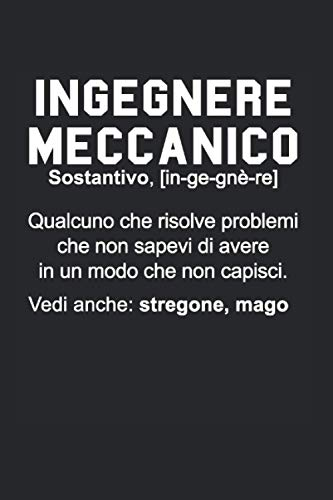 Ingegnere Meccanico: Divertente Quaderno Per Ingegneri I Notebook Da Ingegnere Studente Regali I Quadrato 120 Pagine, A5