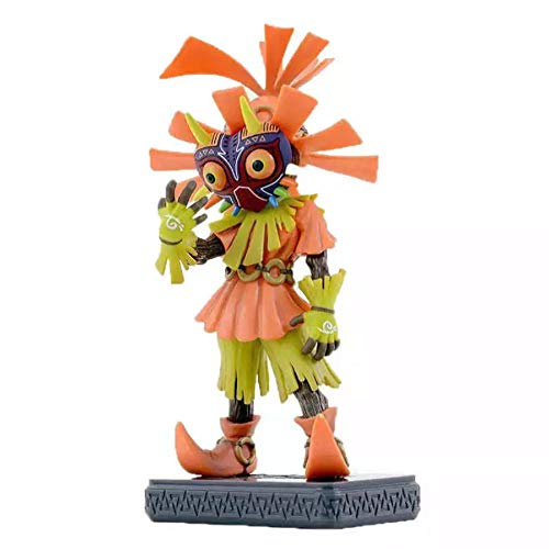 GSDGSD 15cm The Legend Toys Zelda Cosplay Figurine Skull Kid Majoras Mask Figura ÚNICAMENTE Modelo de Figura de acción de edición Limitada con Caja