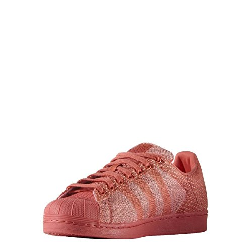 adidas Originals Superstar Weave Scarpe Sneakers Rosso per Unisex