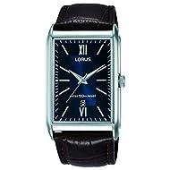 Lorus Mens Analogue Classic Quartz Watch with Leather Strap RH911JX9
