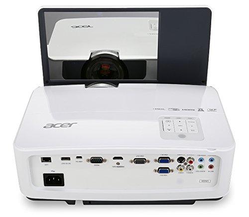 Acer U5220 DLP Projektor (XGA 1.024 x 768 Pixel, 3.000 ANSI Lumen, Kontrast 13.000:1, Ultrakurzdistanz)