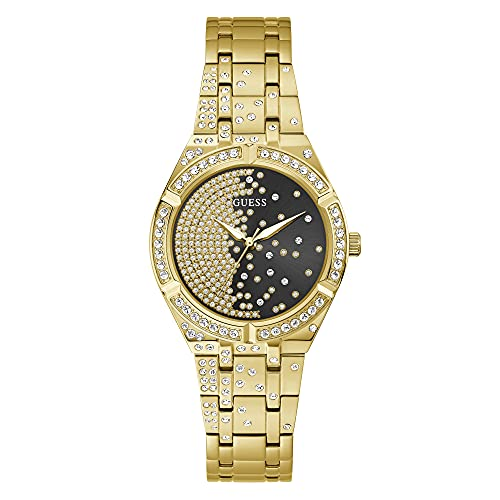 Guess Damen Armbanduhr Afterglow Edelstahl Armband GW0312L2