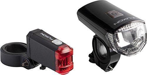 Fuxon Magma Easy Beleuchtung Set LED Frontlicht Rücklicht Akkubetrieb USB