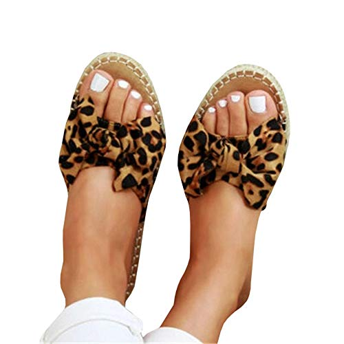 FISACE Womens Gladiator Thong Flat Sandals Open Toe Cut Out Soto Flip Flop Shoes