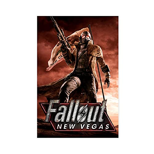 Fallout New Vegas Classic Popular Game Cover 3 Canvas Poster Bedroom Decor Sports Landscape Office Room Decor Gift Unframe-style116×24inch(40×60cm)