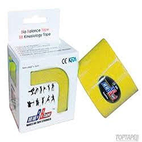 Venda Tape Neuromuscular 5 cm x 5 m Amarillo-Unidad