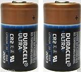 2 DURACELL CR2 3v Lithium Photo Batteries