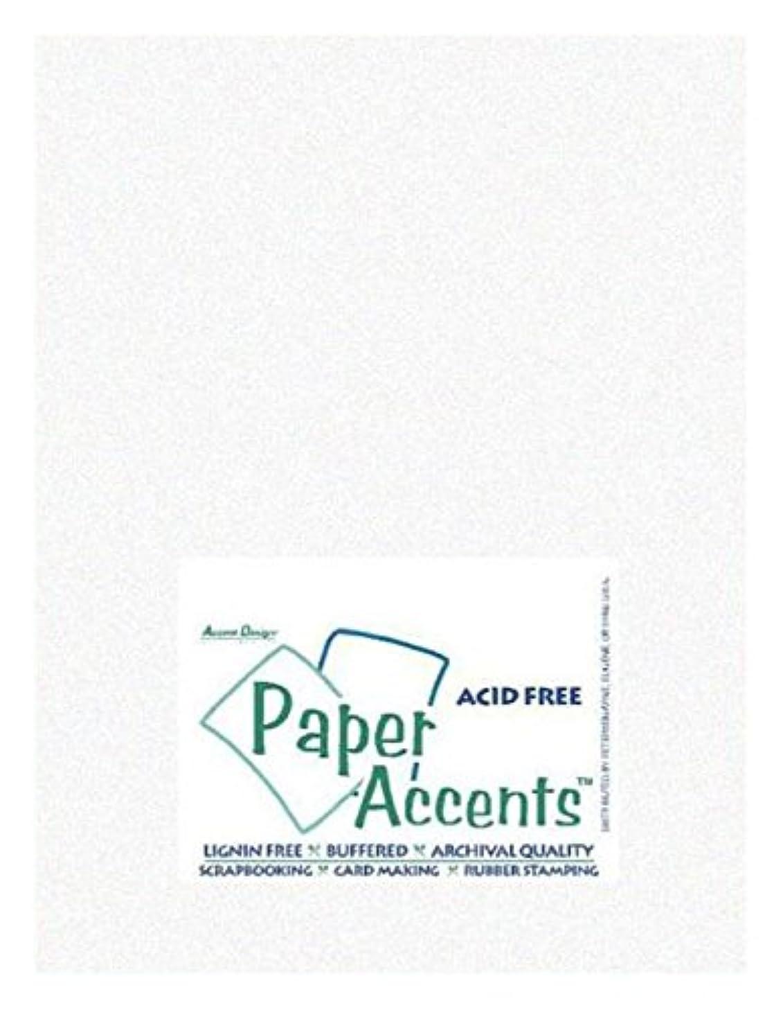 Accent Design Paper Accents PprVellum8511ParchmentWhite Vellum 8.5x11 29# Parchment White