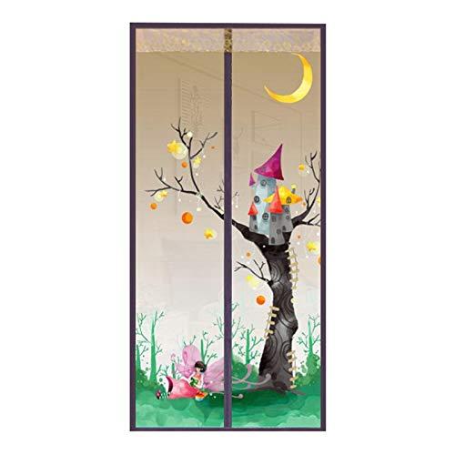 Sommer Haushalt Anti-Moskitonetz Gaze Vorhang, verwendet für Haushalt Fenster Netz Bildschirm Anti-Insektenfliege Anti-Moskito-Fenster magnetische Adsorption Tür Vorhang A1 W110xH210
