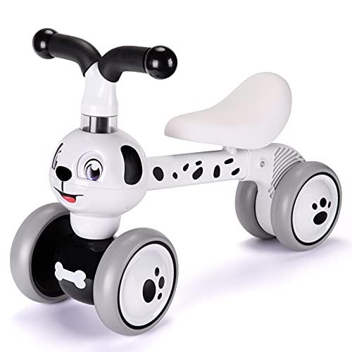 LZDMY Bicicleta sin Pedales para Niños 1 año, Andador Bebes Triciclos Infantil para Niños(10-36 Meses), Correpasillos Bebes, Bicicleta de Equilibrio, Regalo Bebé para Cumpleaños, Año Nuevo, Navidad