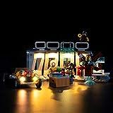 LIGHTAILING Conjunto de Luces (Marvel Avengers Armería de Iron Man) Modelo de Construcción de Bloques - Kit de luz LED Compatible con Lego 76167 (NO Incluido en el Modelo)