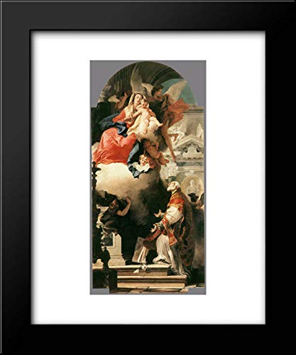 The Virgin Appearing to St Philip Neri 20x24 Framed Art Print by Giovanni Battista Tiepolo