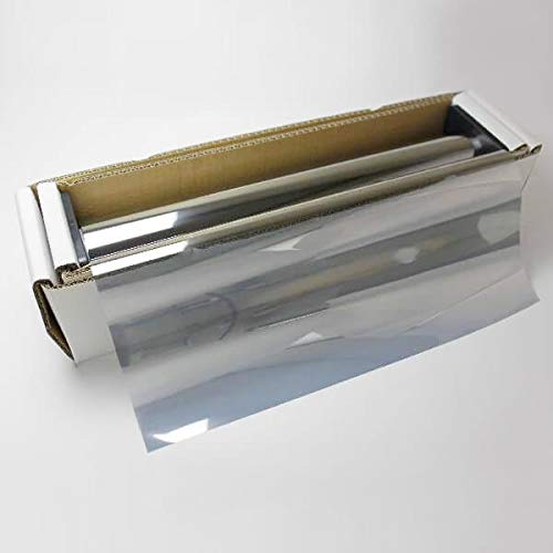 ブレインテック(Braintec) カーフィルム シルバーミラー35(34%) 50cm幅×30mロール販売 #MSV3520 Roll#