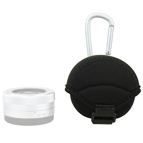 JJC - Custodia in neoprene per obiettivi mirrorless JN-S 62 x 40 mm Olympus Sony(colore: nero)