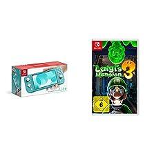 Nintendo Switch Lite, Standard, türkis-blau + Nintendo Luigi's Mansion 3 - [Nintendo Switch]©Amazon