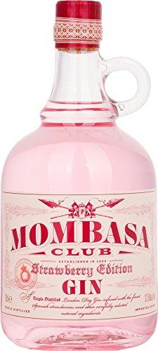 4. Mombasa Gin Strawberry - Ginebra rosa muy aromática