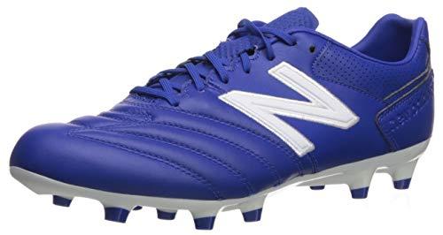 New Balance mens 442 Pro Firm Ground V1 Soccer Shoe, Royal/White, 10.5 Wide US