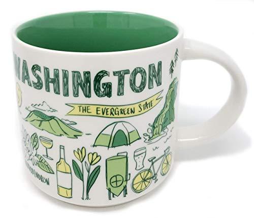 Starbucks Been There Serie Washington State USA 400 ml