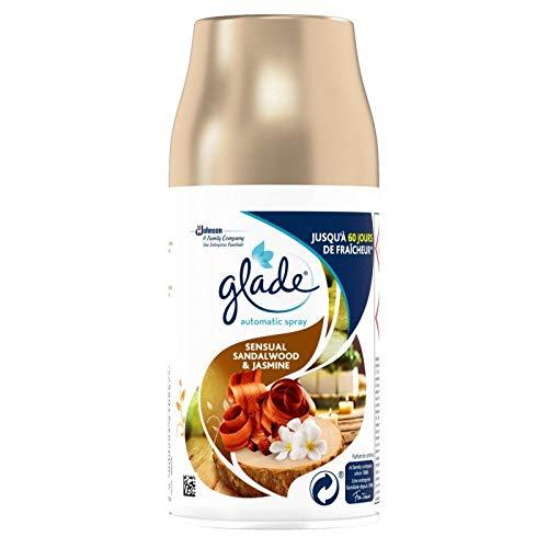 GLADE BY BRISE - Automatic Spray Santal Et Jasmin De Bali 269Ml - Lot De 3