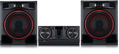 LG CL65 XBOOM - Equipo de Alta fidelidad con 950 W (CD y Radio, 2 Puertos USB, Bluetooth múltiple, Entrada de micrófono)