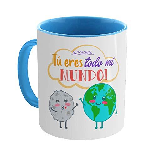 Kembilove Taza Graciosa Pareja - Taza de Desayuno Tú Eres Todo mi...