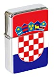 Kroatien (Hrvatska) Feuerzeug mit abnehmbarer Kappe