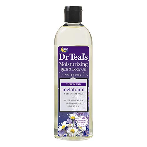 Dr Teal's Melatonin Essential Oil Moisturizing Bath & Body...