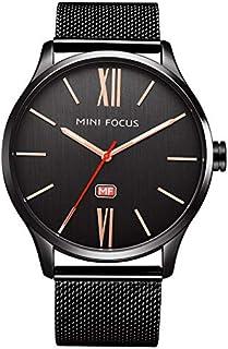 Mini Focus Mens Quartz Watch, Analog Display and Stainless Steel Strap - MF0018G.01