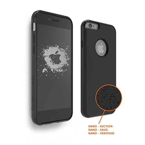 Shop-STORY - Carcasa protectora contra gravedad con Nano ventosa para una adherencia sobre superficies lisas para iPhone 8+/8S+ Plus