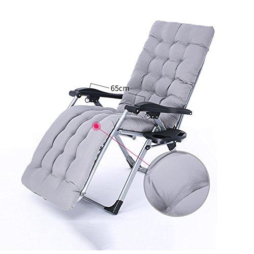 FEIFEI Fauteuils inclinables Office Lounge Chaises Chaise pliante Pause déjeuner Portable Siesta lit balcon extérieur chaise longue Pliant (Couleur : C)