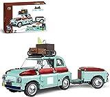 1475 piezas kit de construcción de coche turístico picnic coche...