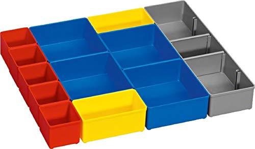 Bosch Professional Boxen für Kleinteileaufbewahrung, i-BOXX 53 inset box Set 12 Stück Professional