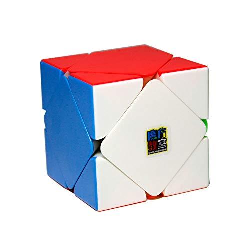 OJIN MoYu MoFang JiaoShi MF2 2x2x2 Cubo m/ágico Cubing Aula MF2 2x2 Velocidad Cubo Rompecabezas Suave Brain Teaser Juguetes Scrub Sin Etiqueta