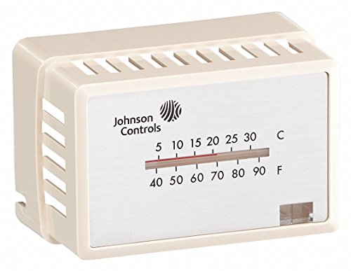 Johnson Controls T-4000-3142 Pneumatic Thermostat Cover, White