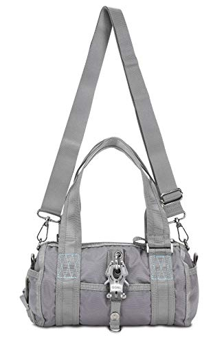 George Gina & Lucy Nylon Roll R Girl Schultertasche anthrazit
