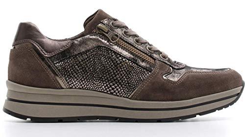 Nero Giardini Donna Sneakers A806411D Torba Scarpe in Pelle Autunno Inverno 2019, EU 37