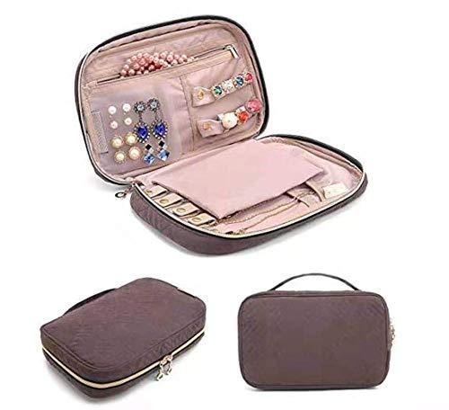 DZX Portable Travel jewelry Box*15 * 5 * 15.5cm