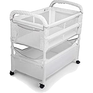 Arm's Reach Clear-Vue Co-Sleeper Bassinet, White