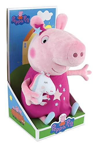 Jemini - 023801 - Peluche Peppa Pig 30cm Avec Mascotte Licorne
