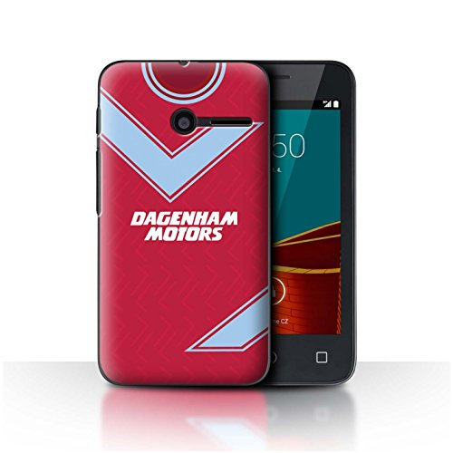 Telefoonhoesje/Cover/Skin/VD-CC/Retro Voetbal/Kit Divisie 1 Collectie Vodafone Smart First 6 West Ham 1993