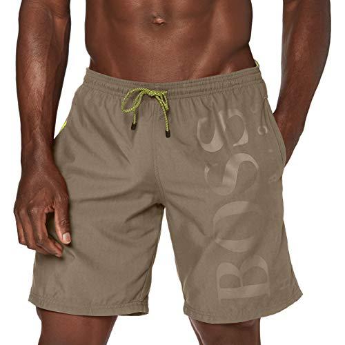 BOSS Orca Pantalones Cortos, Gris (Dark Grey 024), Medium para Hombre