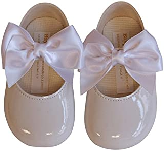 British Made Baby Boy Sky Blue Navy Blue Cream//Ivory Special Occassions Wedding Christening Baypod Shoes by Early Days