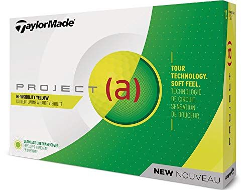 TaylorMade Project (a) Dozen Golf Balls, Yellow, One Size