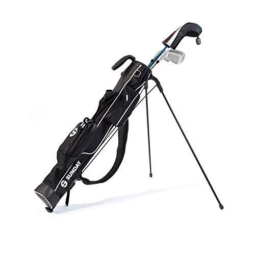 Par3 Golf Sundaze Golftasche mit Ständer, leicht, leicht zu transportieren und langlebige Golftasche – Golftasche für Driving Range, Pitch n' Putt, Par 3, Executive Courses – 80 cm hoch
