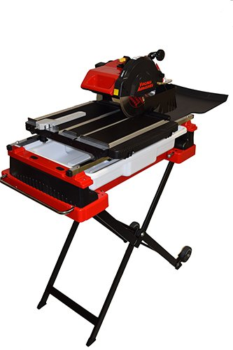 Fantastic Deal! Heavy-Duty 10″ Wet Tile Saw with Stand & Wheels – Virginia Abrasive