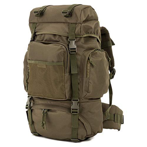 Commando Industries Tactical Rucksack Wanderrucksack 65 L (Oliv)