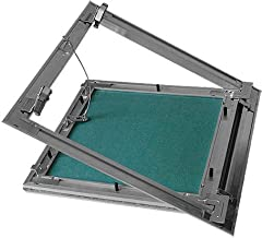 Puerta revisi/ón Trampilla inspecci/ón marco aluminio 22,5x30cm Panel acceso Yeso 12,5 mm Techo Pared